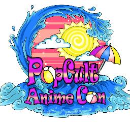 Pop Cult Anime Con Logo